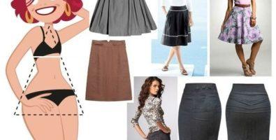 Как подобрать одежду для типа фигуры «треугольник»