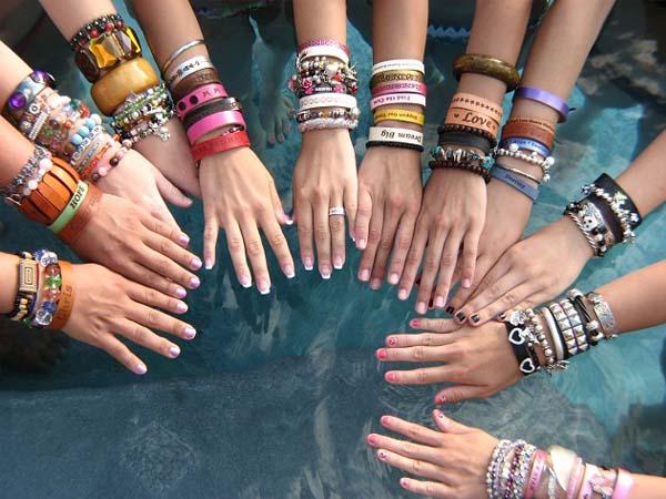 Все виды браслетов на руку