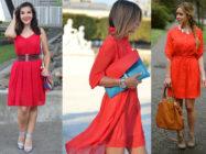 Лучшие друзья красного платья: с чем надеть такой яркий наряд?