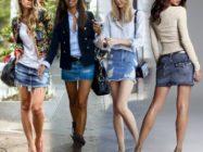 С чем носить юбку из денима: от городского стиля до классики