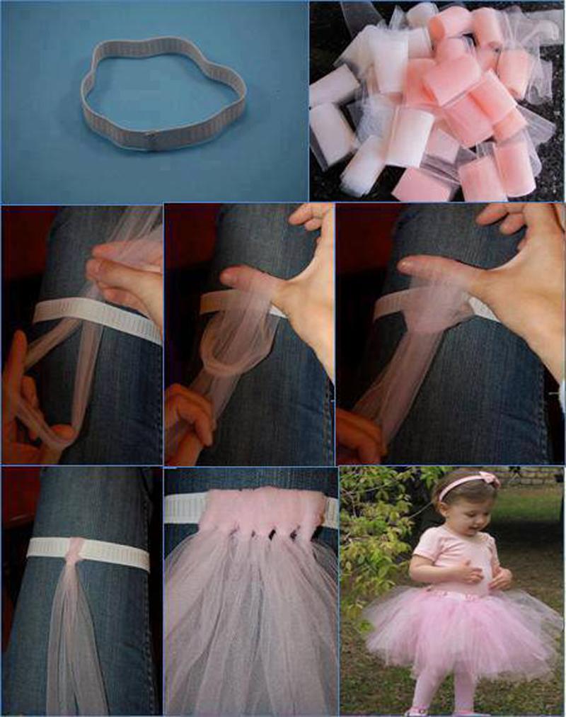 Шьем юбку из фатина для девочки своими руками 51