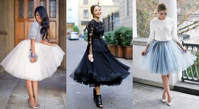 Балерины с юбками из фатина