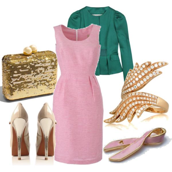розовое платье футляр, фото
