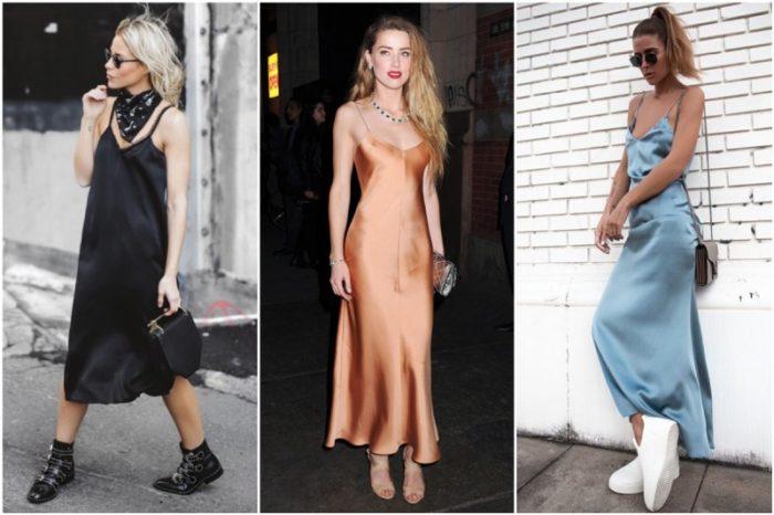 платья в бельевом стиле, фото