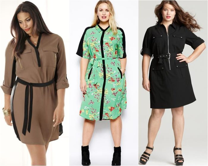 Платье рубашка - база вашего гардероба