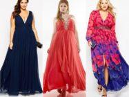 Полное совершенство: модели красивых платьев для дам с пышными формами