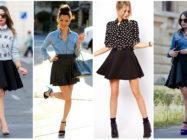 Универсальная и стильная: с чем носить черную юбку?