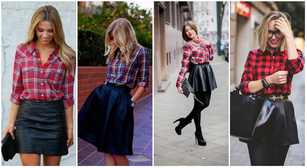 Какие туфли одеть под черную юбку