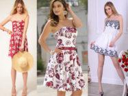 Короткие и длинные платья без бретелек. Как носить платье без бретелек?