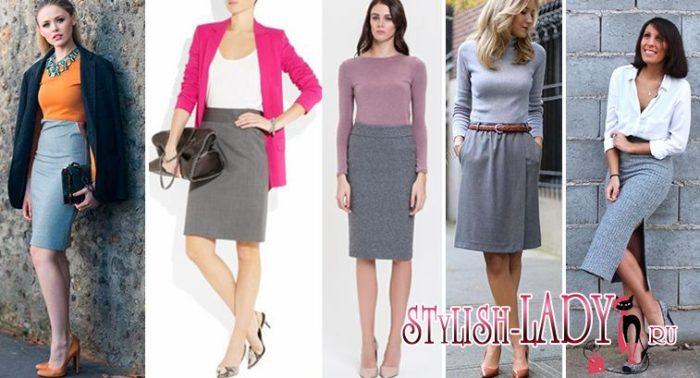 деловые юбки, фото