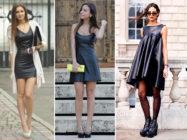 Искусство выбора. С чем носить кожаное платье?