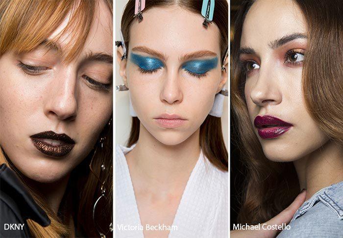 модные тенденции весна - лето 2017: макияж, фото
