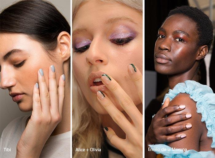 модный маникюр на коротких ногтях 2017, фото