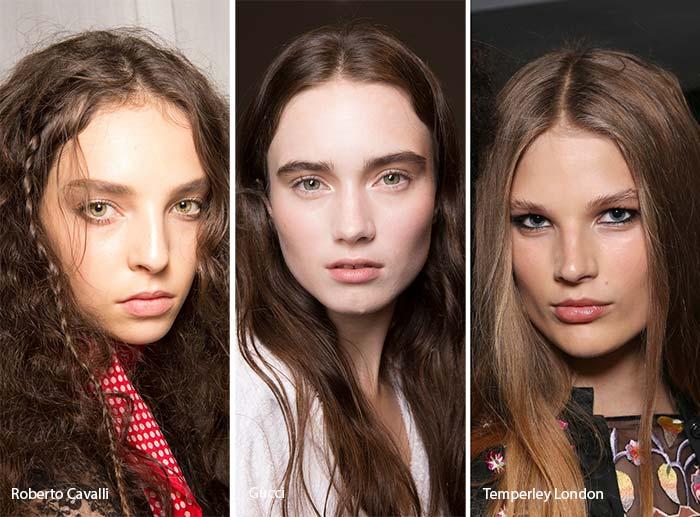 модный цвет 2017 - темный шатен