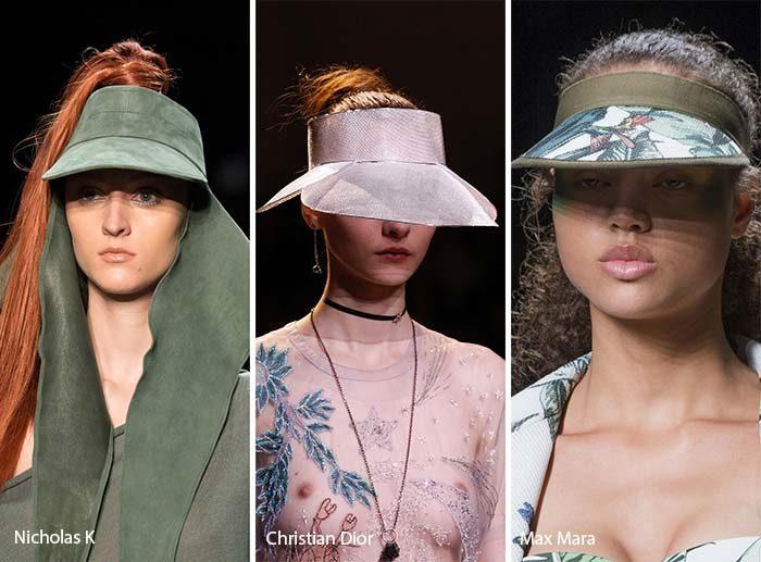 модные козырьки 2017, фото