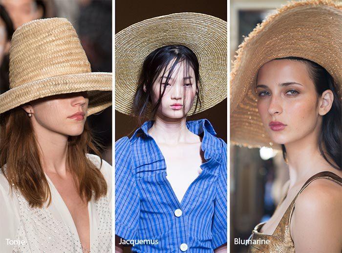 модные соломенные шляпы 2017, фото