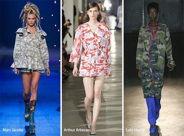 модные камуфляжные принты 2017, фото