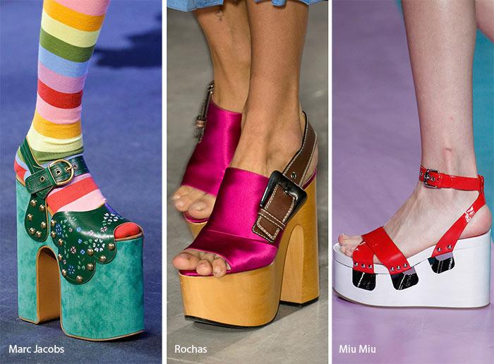 модные туфли на платформе 2017, фото