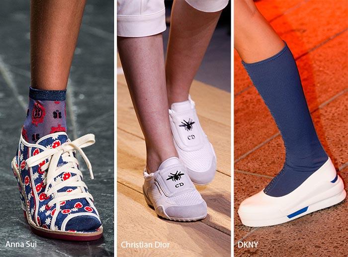 модная спортивная обувь 2017, фото