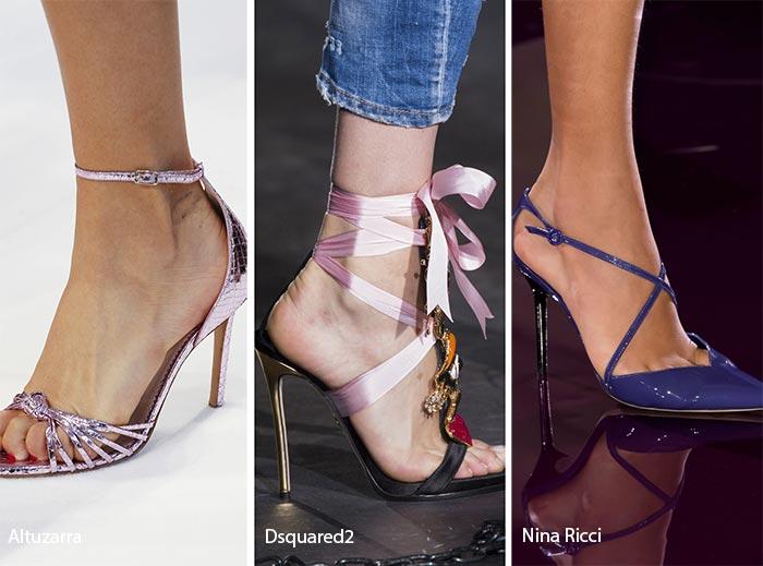 модные туфли на каблуке 2017, фото