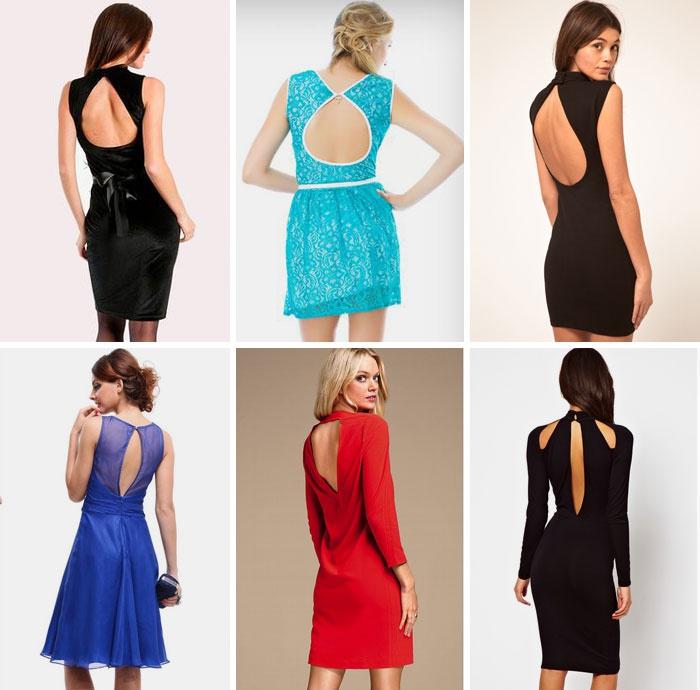 Платья короткие с разрезом фото