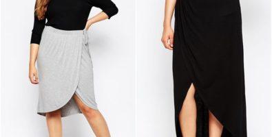Юбки для полных женщин: модели и фасоны