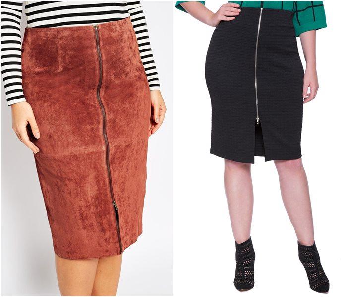 Фасон юбки для полных женщин
