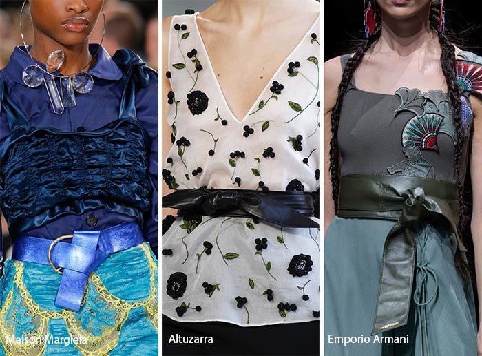 модные пояса 2017, фото