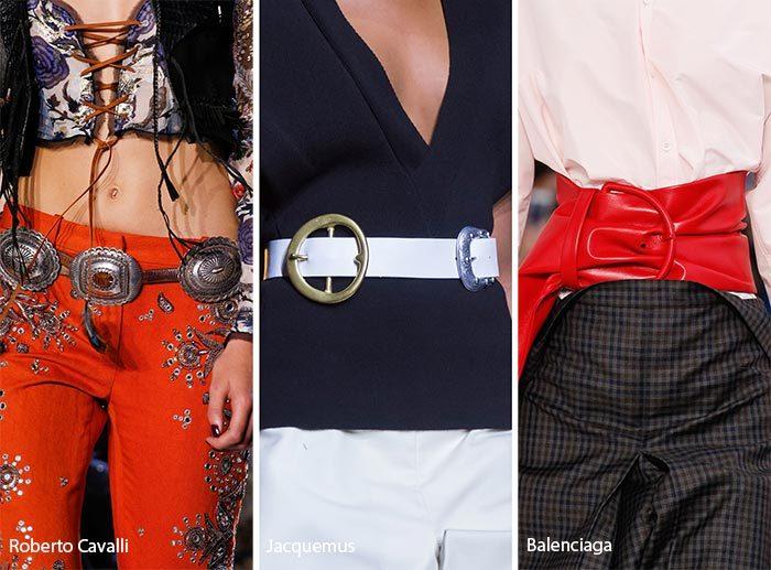 модные ремни 2017, фото