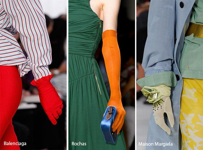 модные перчатки 2017, фото