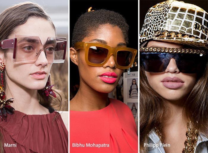 модные очки - оверсайз 2017, фото