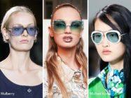 Модные очки на весну и лето 2017: бабочки со стразами, желтые ленноны и темные кошачьи глазки