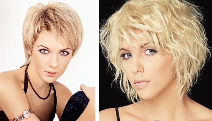 причёски на короткие волосы каскад фото
