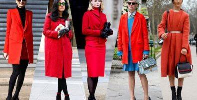 Гид по стилю: с чем носить красное пальто