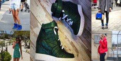 Сникерсы — стильная обувь на танкетке!
