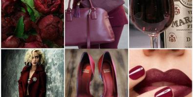 Винное искушение: модный оттенок марсала