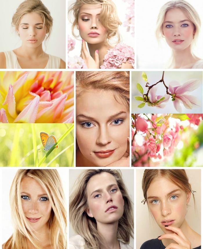 весенний цветотип внешности фото