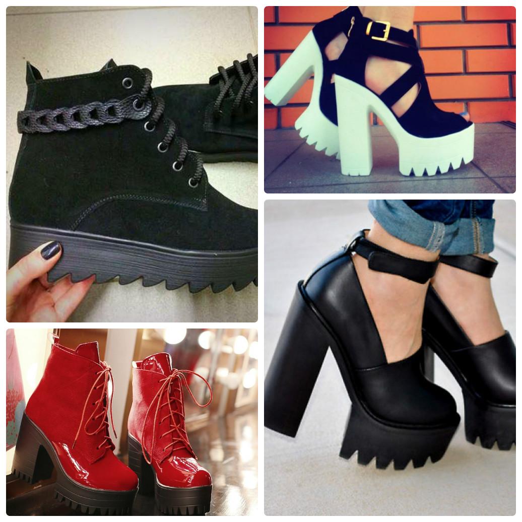 ... массивные ботинки подчеркнут изящность любой женской фигуры. 090f1c795192b