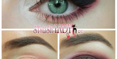 Шикарный макияж с красными тенями — 3 варианта