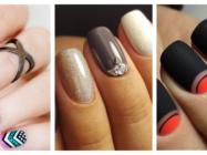 Маникюр гель лаком на короткие ногти — 10 идей дизайна