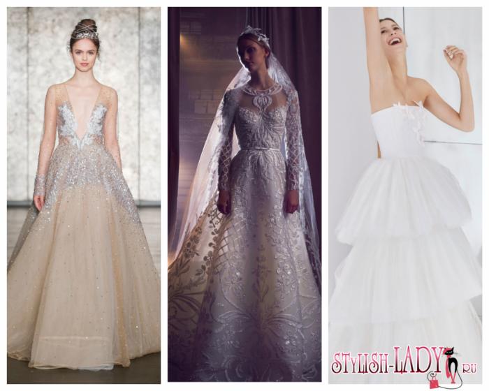 63ef081ec59 Свадебные платья 2018 - модные тенденции и новинки с фото