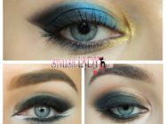 Темный макияж глаз — 3 варианта с пошаговыми фото