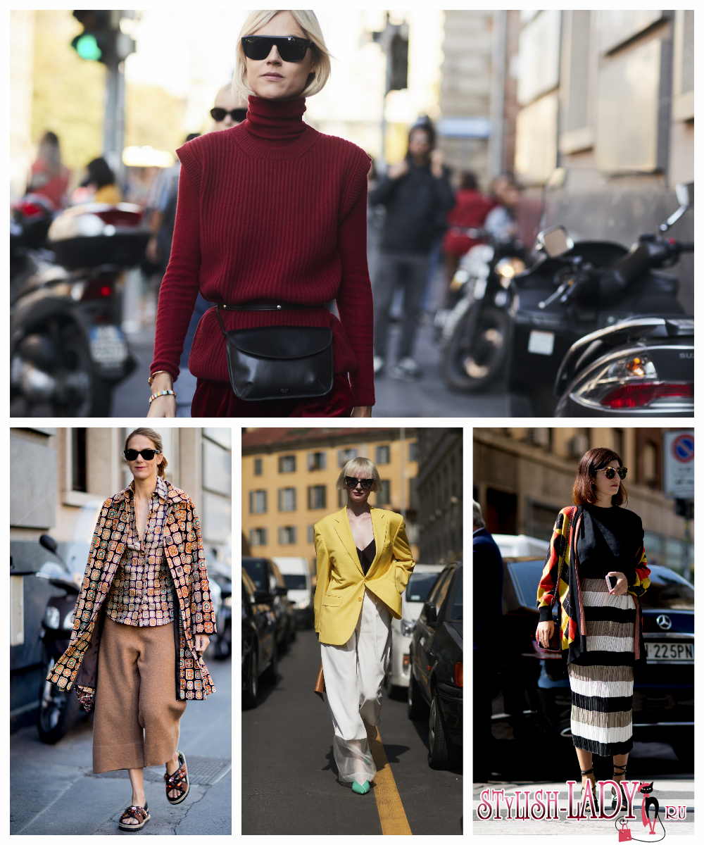 Уличная мода в 2018 фото