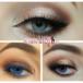 Красивый коричневый макияж глаз — 3 варианта выполнения