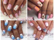Градиент на ногтях — вариации модного маникюра