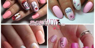 Розовый маникюр — идеи нежного дизайна ногтей