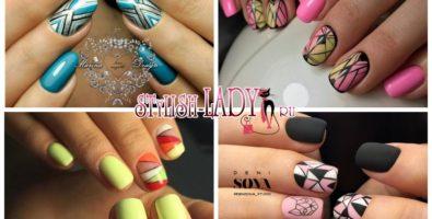 Маникюр геометрия — идеи нестандартного дизайна ногтей