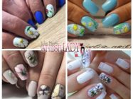 Ромашки на ногтях — идеи весенне-летнего дизайна