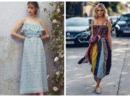 Модные женские сарафаны 2018