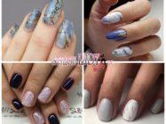 Мраморный маникюр (stone nails) — идеи, варианты и пошаговые уроки выполнения